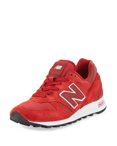 New Balance1300 Age of Exploration Bespoke Suede Sneaker,