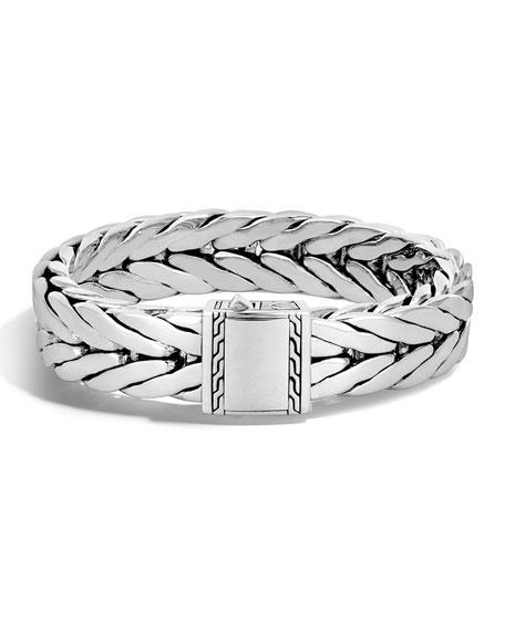 John HardyMen's Large Classic Chain Sterling Silver Cuff
