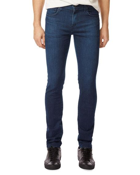 J Brand Tyler Slim-Straight Jeans, Medium Blue