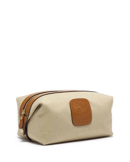 Ghurka Holdall No. 101 Twill Travel Toiletry Bag,