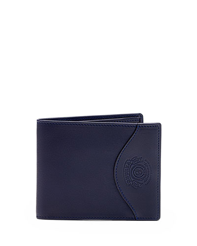 Classic Leather Wallet No. 203, Blue