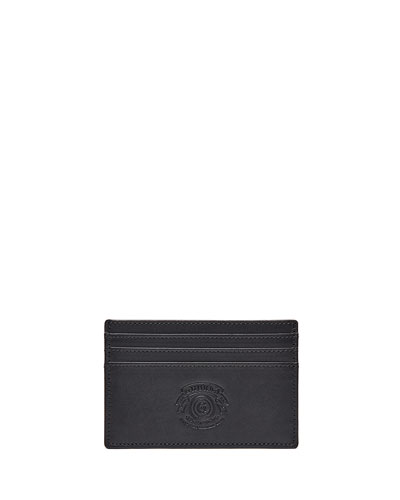Slim Credit Card Case No. 204, Black