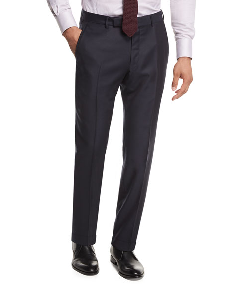 Ermenegildo Zegna Trofeo Wool Dress Pants