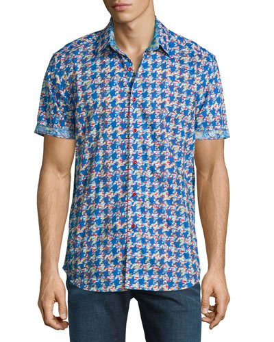 Johnson Valley Short-Sleeve Sport Shirt