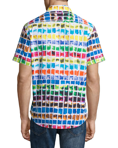 Rainbow Basin Short-Sleeve Sport Shirt