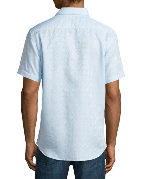 Lyman Short-Sleeve Woven Sport Shirt