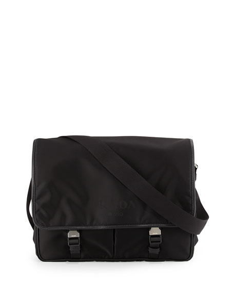 Prada Large Nylon Messenger Bag 43