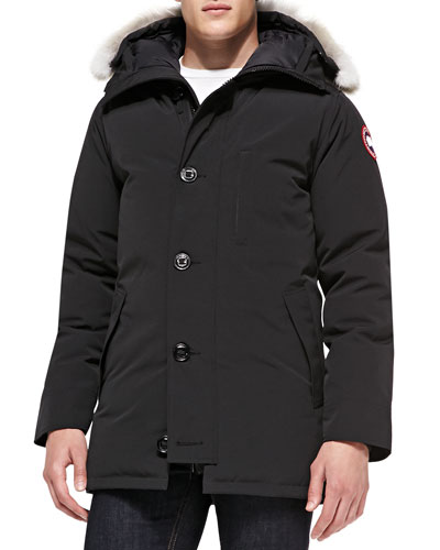 Canada Goose' Langford Down Parka Men's, Black, XS