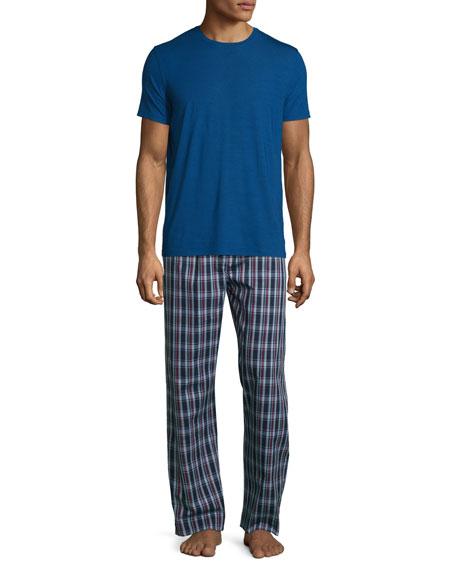 Short-Sleeve Jersey T-Shirt, Blue