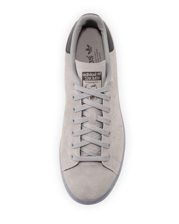 size 40 e589b 20834 Men's Stan Smith Suede Sneaker w/Ice Outsole, Gray