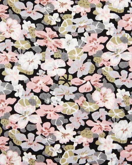 TOM FORD Hydrangea Prairie-Floral Slim-Fit Shirt, Pink