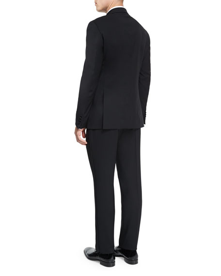G-Line Peak-Lapel Wool Tuxedo