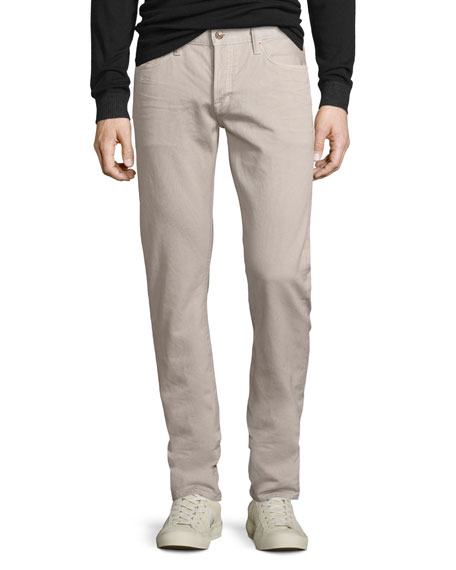 TOM FORD Five-Pocket Corduroy Pants, Beige