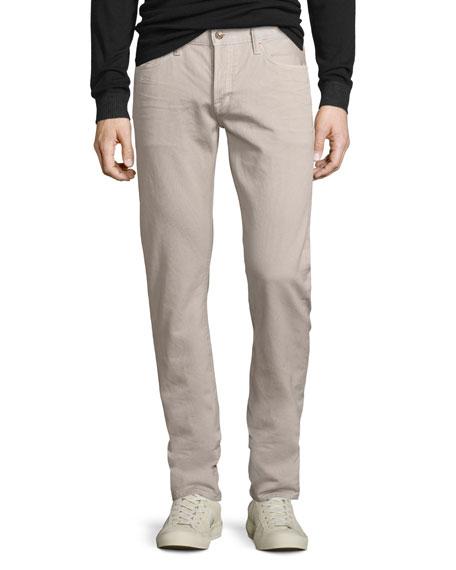 Five-Pocket Corduroy Pants, Beige