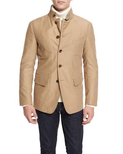 Convertible Sport Jacket, Tan
