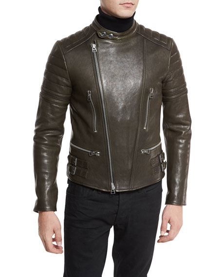 TOM FORD Icon Quilted Leather Biker Jacket : neiman marcus quilted leather jacket - Adamdwight.com