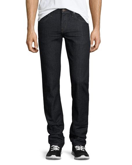 J Brand Kane Straight-Leg Denim Jeans, Dark Indigo
