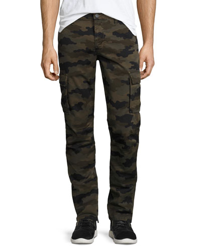 Castron Camo-Print Cargo Pants