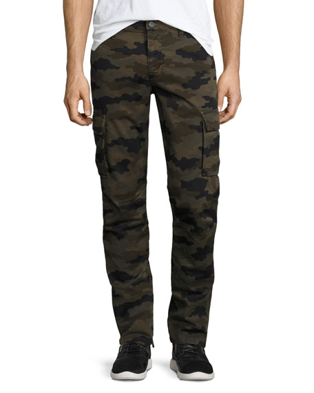J Brand Castron Camo-Print Cargo Pants