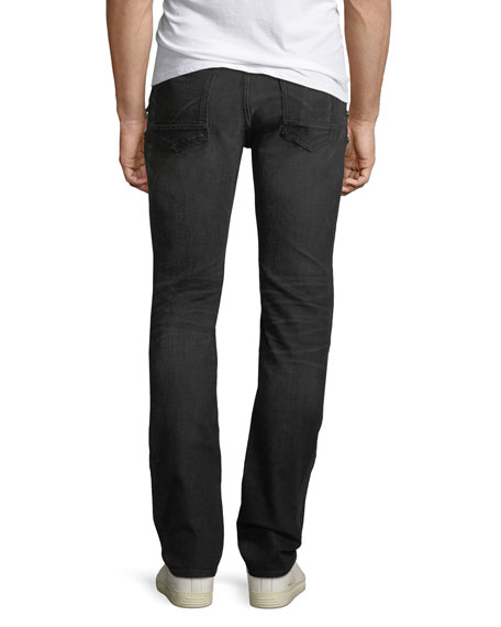 Men's Broderick Trenches Zip-Pocket Skinny Jeans