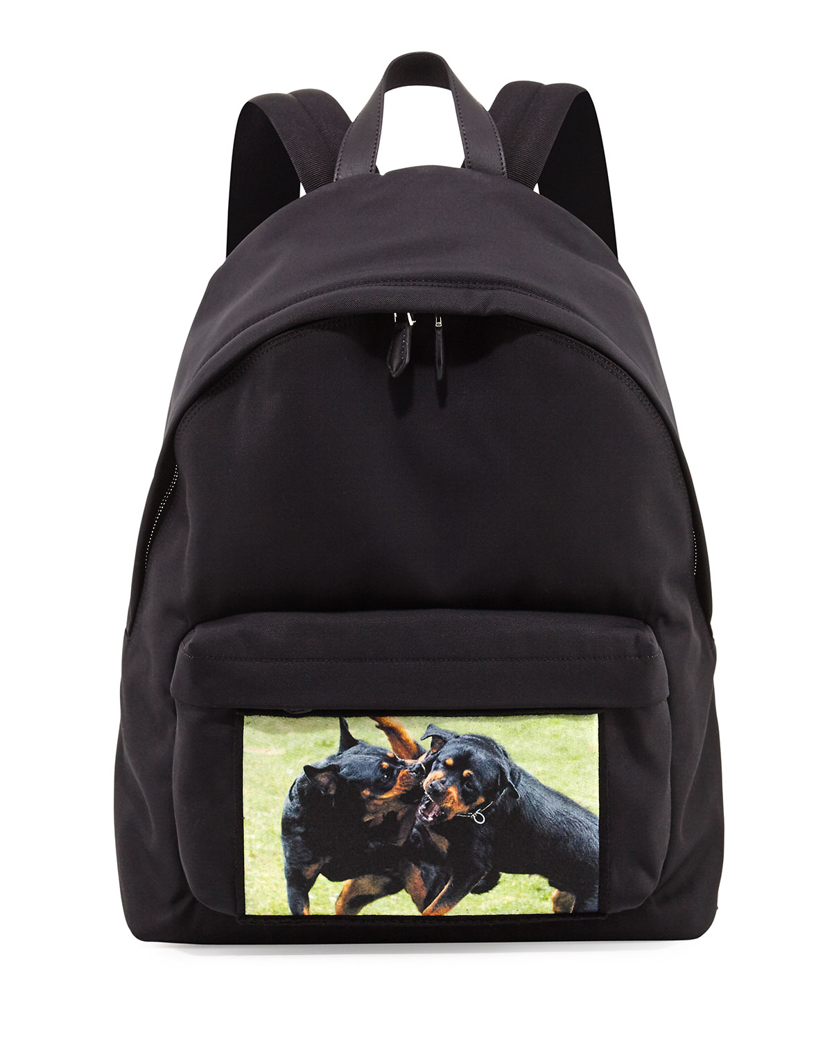 Givenchy Fighting Rottweiler Canvas Backpack 427e777608f87