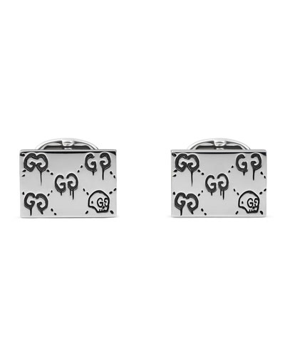 GucciGhost Cuff Links, Silver