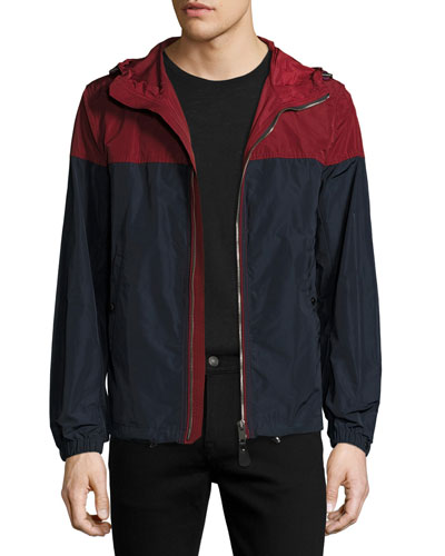Colorblock Technical Jacket w/Hood