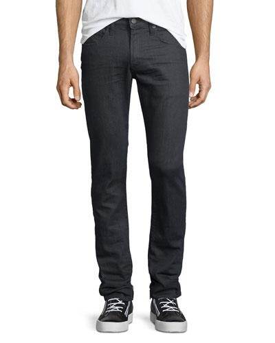 Tyler Perfect Slim-Fit Jeans, Dark Gray