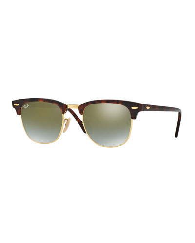 Clubmaster® Flash Sunglasses, Red Havana