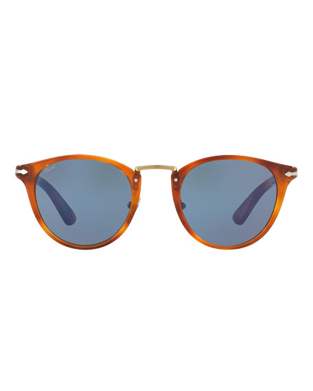 PO3108S Round Acetate Sunglasses