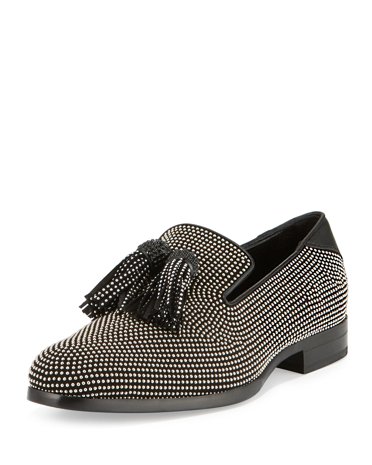 Jimmy choo Foxley Metallic Print Loafers JzM1CTNp