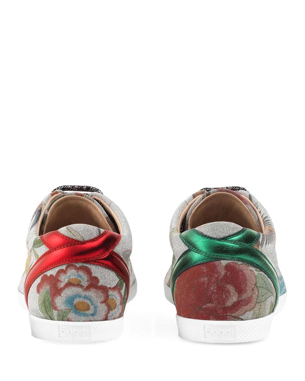 Gucci Bambi Tian Glitter Low-Top