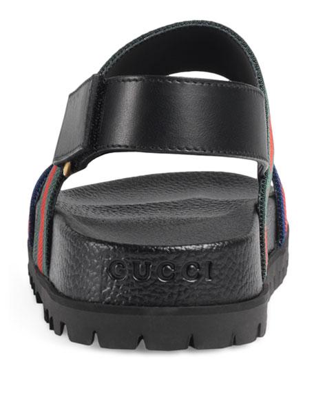 Rimini Double-Strap Sandal, Multicolor