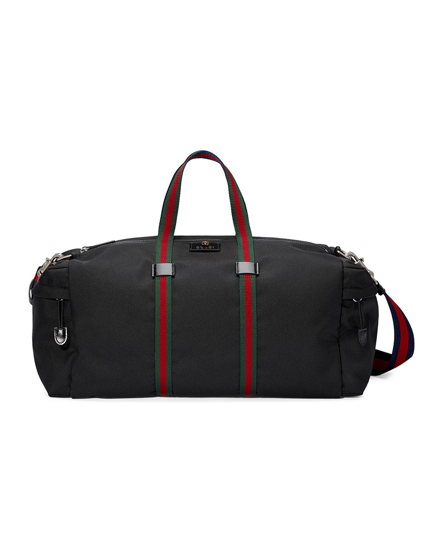 e278f4a579fa Gucci Technical Canvas Duffel Bag