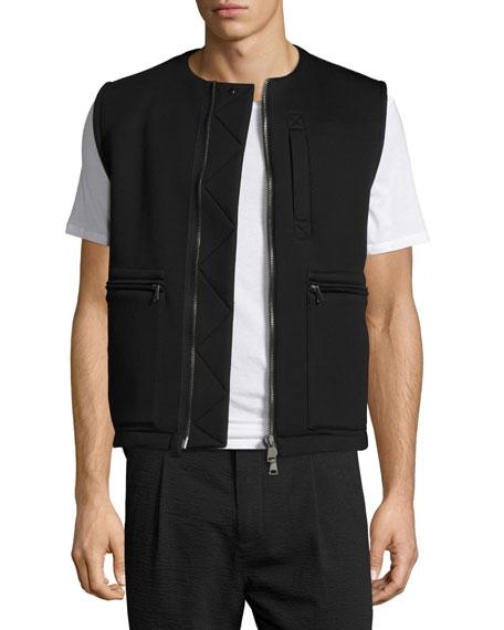 Helmut Lang Flack Neoprene Vest, Black
