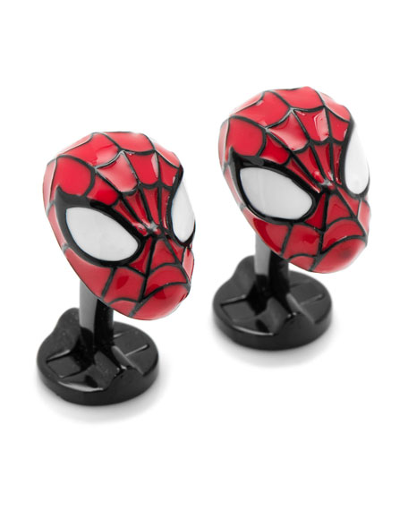 Cufflinks Inc. 3D Spiderman Cuff Links