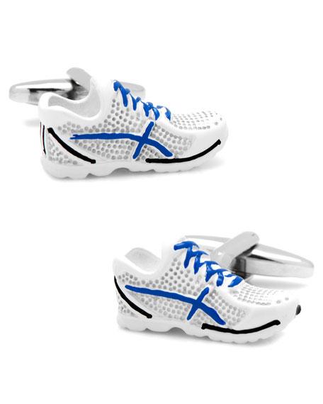 3D Running Shoes Cuff Links