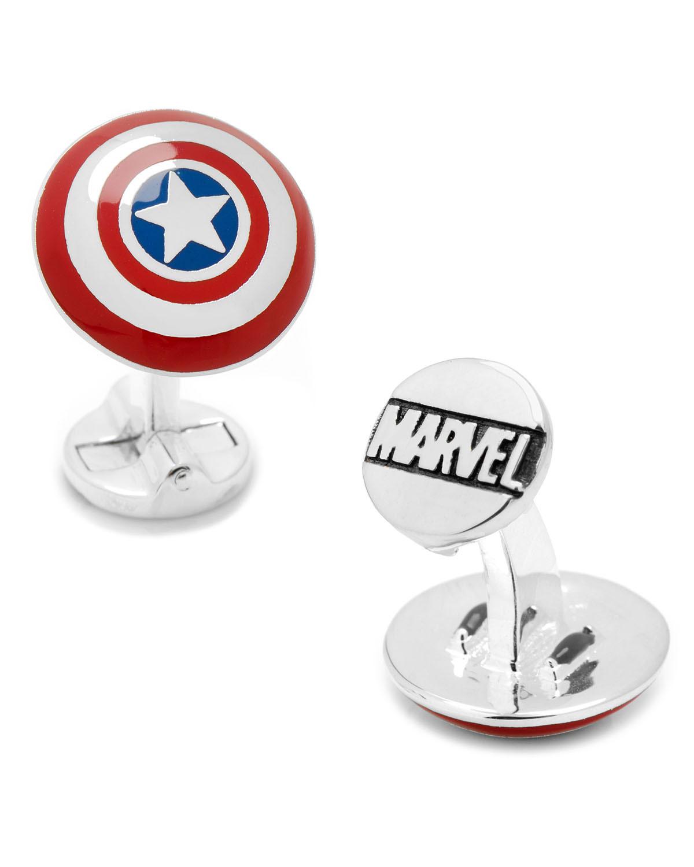 Cufflinks Inc. 3D Captain America Cuff Links bSmbrLtyW
