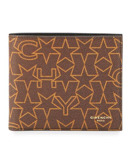 Givenchy Logo-Print Bi-Fold Wallet