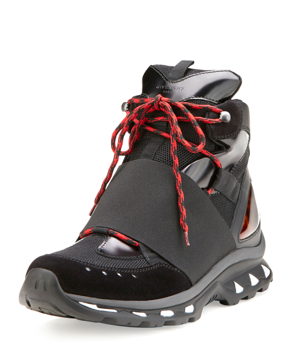 Givenchy Hiking Boot Trainer Sneaker, Black | Neiman Marcus