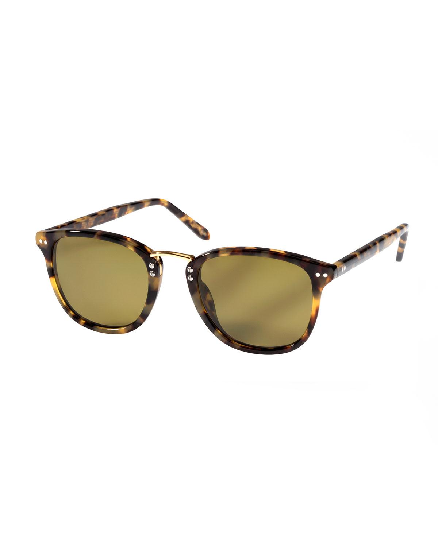 96c7da2e91e KREWE Franklin Polarized Acetate Sunglasses