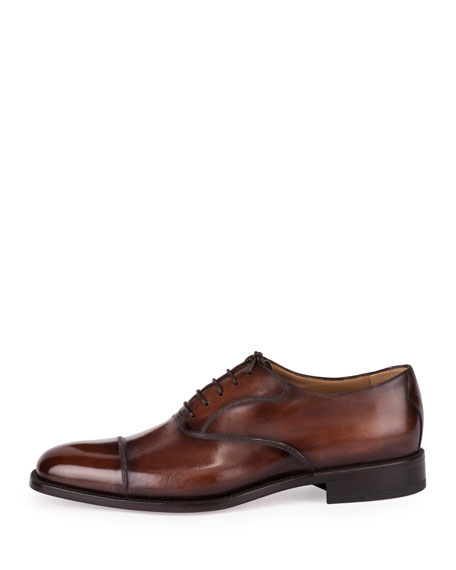 Classic Roccia Oxford Shoe, Brown