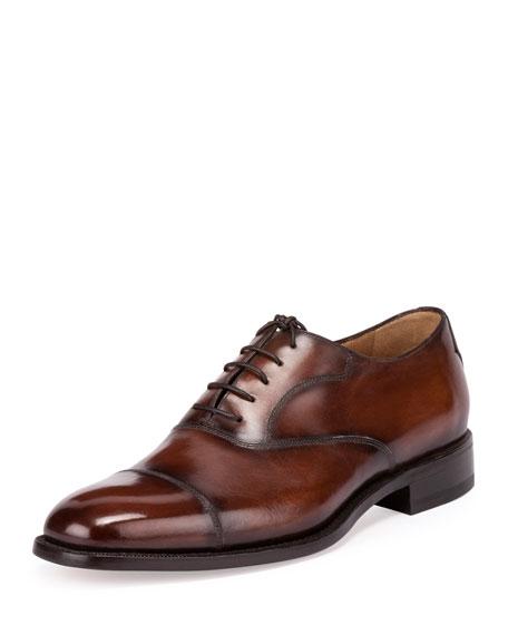 Classic Roccia Oxford Shoe, Brown