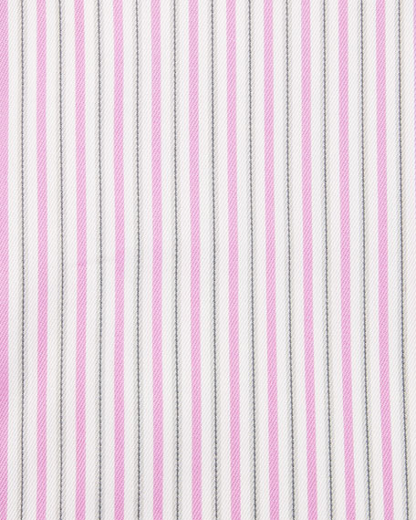 Striped Dress Shirt, Pink