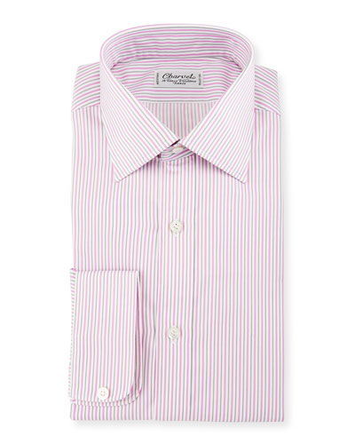 Charvet Shirts : Poplin & Check Dress Shirts at Neiman Marcus