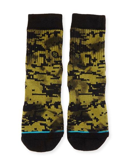 x Dwayne Wade A-Tac Socks, Olive