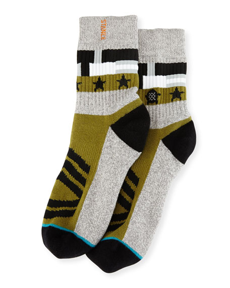Stance x Dwayne Wade Decorated Socks, Gray