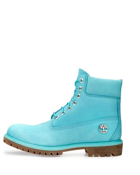 "6"" Premium Waterproof Hiking Boot, Blue"