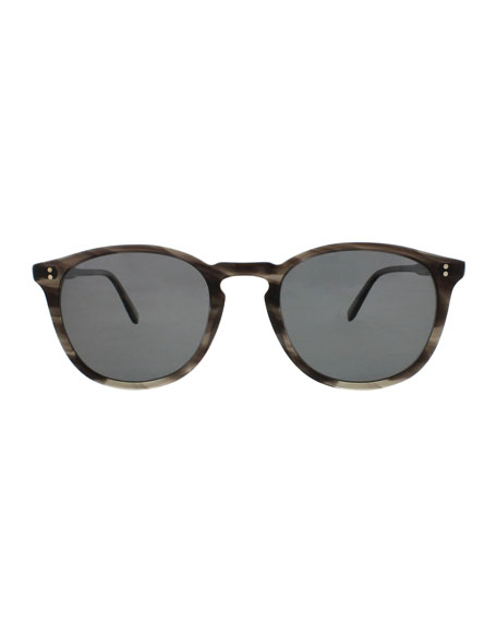Kinney Polarized Acetate Sunglasses, Tortoise