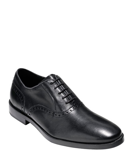 Cole Haan Hamilton Grand Plain-Toe Oxford, Black